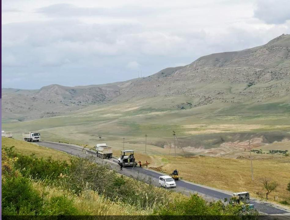 Photo of საგარეჯო-უდაბნო-დავით გარეჯის მონასტერის საავტომობილო გზის  რეაბილიტაცია მიმდინარეობს