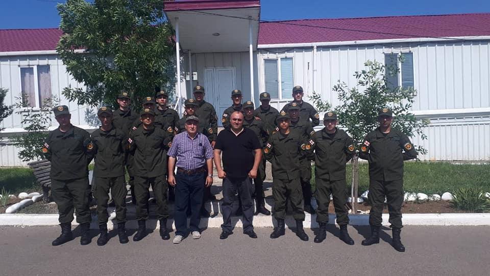 Photo of ახმეტის მუნიციპალიტეტის მერიის სამხედრო აღრიცხვის, გაწვევის და მობილიზაციის სამსახურმა გაწვევის გეგმა წარმატებით შეასრულა