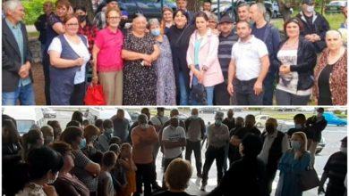 Photo of ირმა ინაშვილი დღეს ახმეტისა და თელავის მოსახლეობას შეხვდა