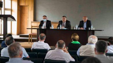Photo of გურჯაანში ატმის მოსავლის დაბინავების საკითხზე სამუშაო შეხვედრა გაიმართა
