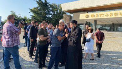 Photo of ქაშუეთის ეკლესიაში დაგეგმილ პარაკლისს თელავიდანაც შეუერთდნენ