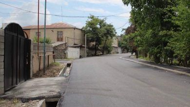 Photo of ქალაქ გურჯაანში ფიროსმანის ქუჩაზე გზის რეაბილიტაცია მიმდინარეობს